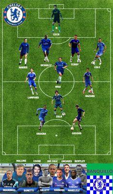 Chelsea Wallpapers, Chelsea Fc Wallpaper, Best Football Players, Football Art, Football Lineups, Image Foot, Chelsea Football, Sports Humor, Everton