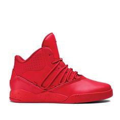 SUPRA ESTABAN | RED/RED - RED | Official SUPRA Footwear Site