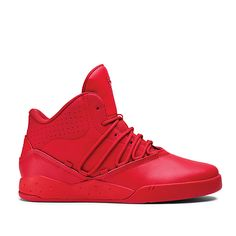 SUPRA Footwear™ | Official Store | ESTABAN | RED/RED - RED