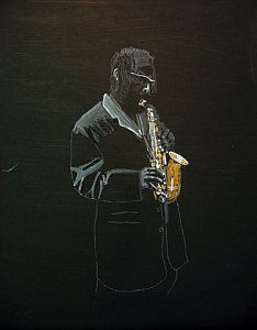 Choose your favorite saxophone player paintings from millions of available designs. All saxophone player paintings ship within 48 hours and include a money-back guarantee. Sonny Rollins, Saxophone Players, Fine Art America, Darth Vader, Jazz, Painting, Jazz Music, Painting Art, Paintings