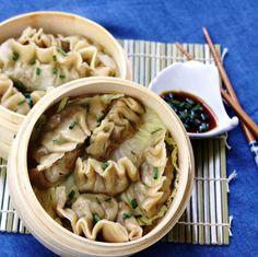 Steamed Asian Dumplings from Menu Musings