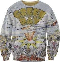 Green Day #Dookie Sweater