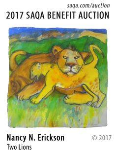 Art quilt by Nancy N. Erickson
