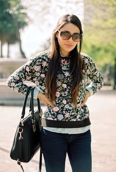 Preppy Floral Bloom on http://nooristrend.com/2015/03/23/floral-preppy-look/