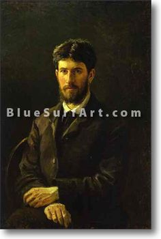 Portrait of Piotr Gay, the Artists Son - £124.99 : Canvas Art, Oil Painting Reproduction, Art Commission, Pop Art, Canvas Painting