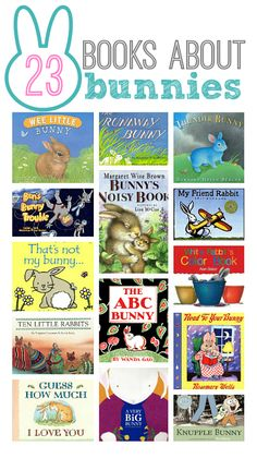Find a cute bunny book for your child's Easter basket! from @Allison @ No Time For Flash Cards