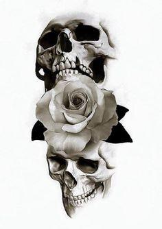 So many skull ideas I think I'll combine a few into a totally new idea ♡