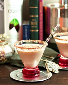 Chocolate Mint Liqueur, Vodka and Vanilla Ice Cream Shake
