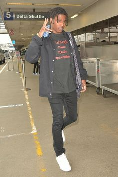 ASAP Rocky - Departing from LAX Airport on