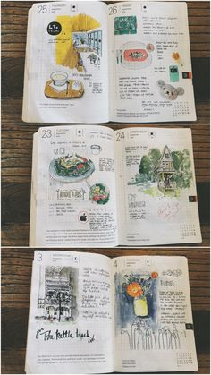 What's inside my hobonichi collection of journal entries throughout this year Bullet Journal Format, Bullet Journal Ideas Pages, Journal Entries, Bullet Journal Inspiration, Journal Pages, Notes Taking, Hobonichi Techo, Hobonichi Ideas, Homemade Journal