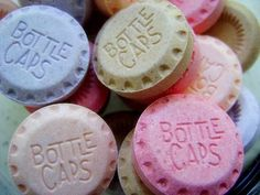 I loved Bottlecaps candy as a kid.  Wonder how I could use them in baking?  Maybe on top of cupcakes?