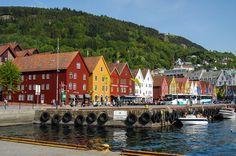 Bergen, Briggen Norwegen