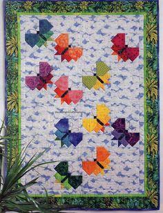 Butterflies Quilt Pattern Pieced PH