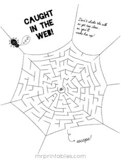 Free mazes, activities, and other printables. Not a whole lot to choose from, but what's available is really cute!