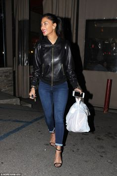Busy woman! Nicole Scherzinger was back in Los Angeles having a much more low key night on Monday as she picked up take-out food at Pinches Tacos on the Sunset Strip