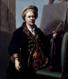 Jacob van Schuppen · Autoritratto · 1710 ca · Ubicazione ignota