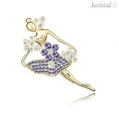Pin dance by SWAROVSKI ELEMENTS Crystal Brooch, Crystal Jewelry, Lotus, Heart Ring, Swarovski, Crystals, Rings, Dance, Accessories