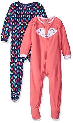 69e147c793 Amazon.com  Carter s Girls  2-Pack Fleece Pajama Set