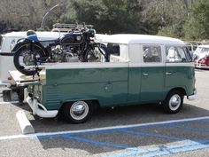 VW carrying a VW Motorcycle