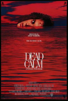 Dead Calm (1989) Vintage One Sheet Movie Poster - Nicole Kidman & Sam Neill