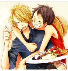 If you guys wanna find some cute Luffy stuff, here it is. One Piece Images, One Piece Pictures, Manga, Pirate Pictures, Sanji One Piece, Ace And Luffy, One Piece World, Sanji Vinsmoke, One Peace