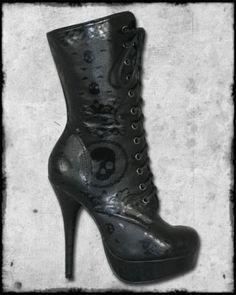 iron fist calf boots