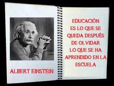Como dijo Albert Einstein http://www.facebook.com/EditorialDech