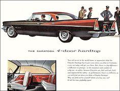 1957 Chrysler Saratoga 4-Door Hardtop