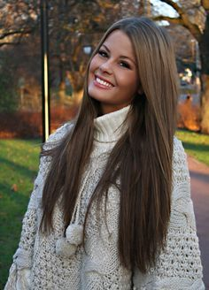 Dark brown long hair extensions gallery hair extension hair 15inch 7pcs 22 light ash brown straight clip in human hair get this look with cliphair pmusecretfo Images