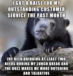 Definitely should have done this while I was stuck working in customer service!!