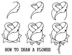 Afbeeldingsresultaat voor how to draw step by step for beginners