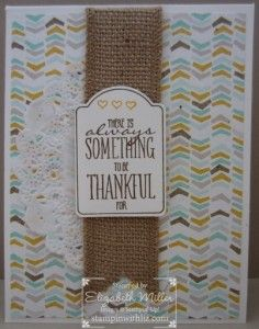 Stampin Up Your Brighten My Day stamp set Sale-a-bration card