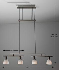 Rise & Fall Pendant - Energy Saving lamps Fall Lights, Room Lights, Ceiling Lights, Save Energy, Track Lighting, Lamps, New Homes, Pendant, House