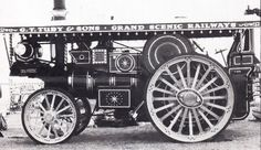 Burrell scenic showmans engine ex mayor