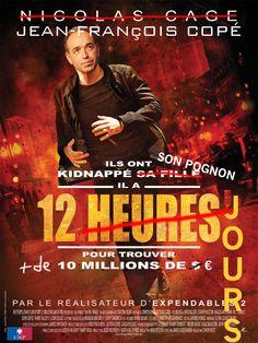 """18 juillet 2014 : l'UMP en proie à une grave crise financière doit rembourser 10 millions de prêt bancaire avant la fin du mois. Parodie de l'affiche du film """"12 Heures"""" avec Nicolas Cage"""