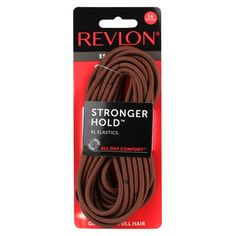 Stunningly Beautiful, How To Feel Beautiful, Brown Hair Elastics, Revlon, Amazon Beauty Products, Fabric Scissors, Full Hair, Diy Bow, Elastic Hair Bands