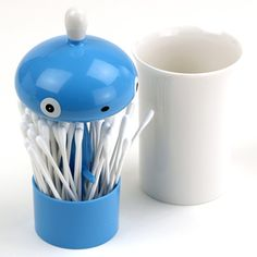 Cotton swab container!