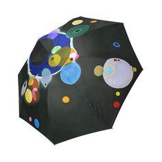 Kandinsky Several Circles Foldable Umbrella