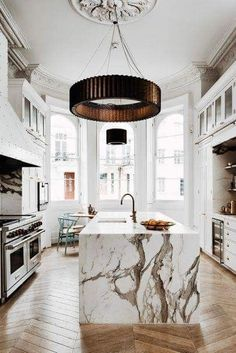 Home Interior Design .Home Interior Design Interior Design Minimalist, Interior Design Kitchen, Kitchen Designs, French Interior Design, Marble Kitchen Interior, Interior Design Blogs, Beautiful Interior Design, Interior Colors, Interior Designing