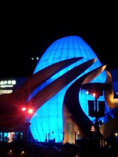 Sealife the aquarium in -ocean park hk Ocean Park, Modern Buildings, Opera House, Aquarium, Travel, Goldfish Bowl, Viajes, Fish Tank, Trips