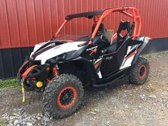 Used 2015 Can-Am Maverick X xc DPS 1000R White, Black & C ATVs For Sale in New York. 2015 Can-Am Maverick X xc DPS 1000R White, Black & Can-Am Red, Just in!!! Adult owned and driven, SUPER clean machine! Features Hard Doors, Roof, 1/2 Windscreen, Winch and Rock Sliders! Priced $1000 below NADA, and that's before all the accessories! CALL OR STOP IN TODAY! These never ever last long. Dealer serviced and ready for FUN! 2015 Can-Am® Maverick X® xc DPS® 1000R White, Black & Can-Am Red…