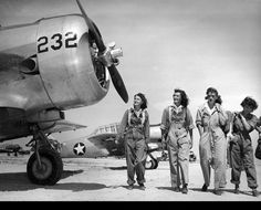 """Women Airforce Service Pilots (""""Fly Girls"""") [1940s]"""
