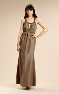 Pretty Column Ankle-length Spaghetti Straps Sleeveless Satin Evening Dresses - Formal Dresses - Wedding Dresses