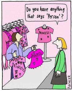 """Non ha niente in cui c'è scritto """"persona""""? #pasionariaIT #femminismo #feminism"""