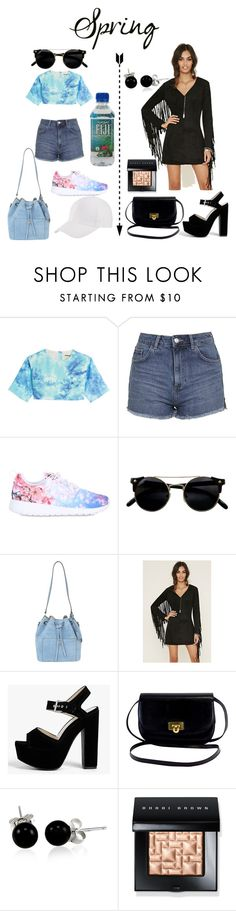 """spring day to night"" by phoebeleslie ❤ liked on Polyvore featuring FAUSTO PUGLISI, Topshop, NIKE, Michael Kors, Forever 21, BoohooMAN, Bling Jewelry and Bobbi Brown Cosmetics"
