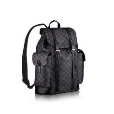 Christopher PM +Damier Graphite Canvas - Men's Bags | LOUIS VUITTON