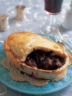 Recipe : Steak and Mushroom Pie/ステーキ&マッシュルームパイ