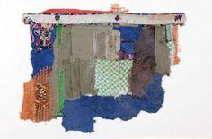 Textile Art , Mixed Media Textile Art, with thanks to Textile artist Geta Bratescu , Artist Study Resources for Art Students , CAPI ::: Create Art Portfolio Ideas at milliande.com , Art School Portfolio Works, Textiles, Fibre, Art, Sewing, Stitching
