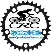 Visit or call Cycle Repair Clinic on 01246 476 305 today for more information Repair Clinic, Logo, Logos