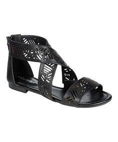 Take a look at the Black Covina Sandal on #zulily today!